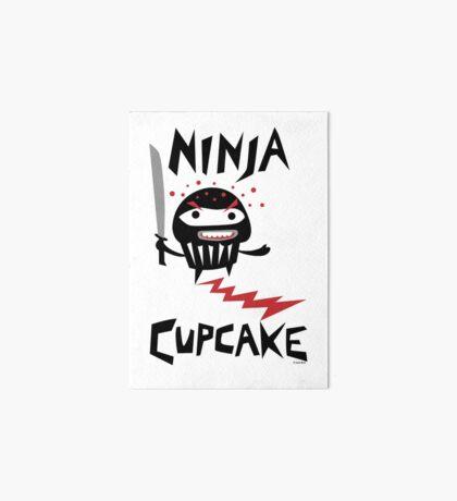 Ninja Cupcake - 2 Art Board