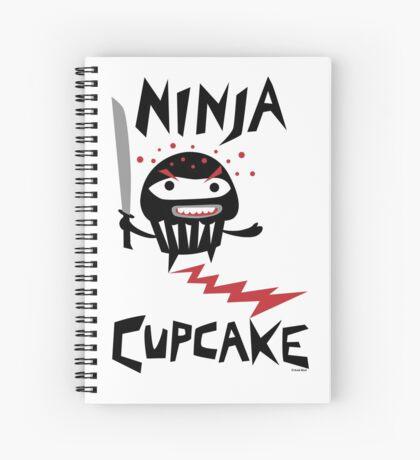 Ninja Cupcake - 2 Spiral Notebook