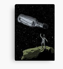 Space Castaway Canvas Print