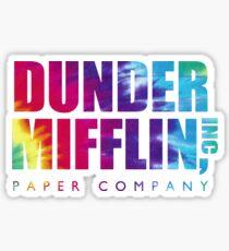 Dunder Mifflin Paper Company Krawatte sterben Sticker