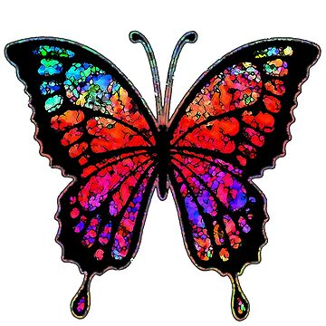 Psychedelic Butterfly by Bronzarino