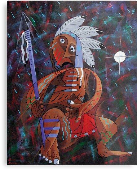 Medicine Man/ShapeShifter by Arnold Isbister