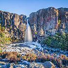 Taranaki Falls by Ian Rushton