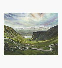 Bealach na Ba. Applecross Photographic Print
