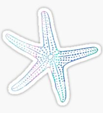 Opal Star Fish  Sticker
