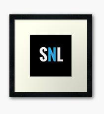 snl turtle  Framed Print