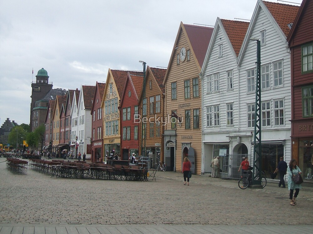 Shopping in Bergen by Beckylou