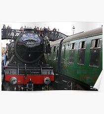 Flying Scotsman @ Bluebell Railway Poster