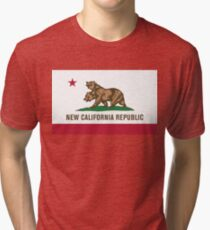 New California Tri-blend T-Shirt