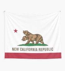 New California Wall Tapestry