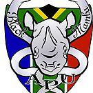 Black Mamba Anti Poaching Unit Logo by pennies4eles