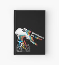 Boomboxes are logical Hardcover Journal