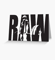 RAW Strength - Deadlift Iconic Greeting Card