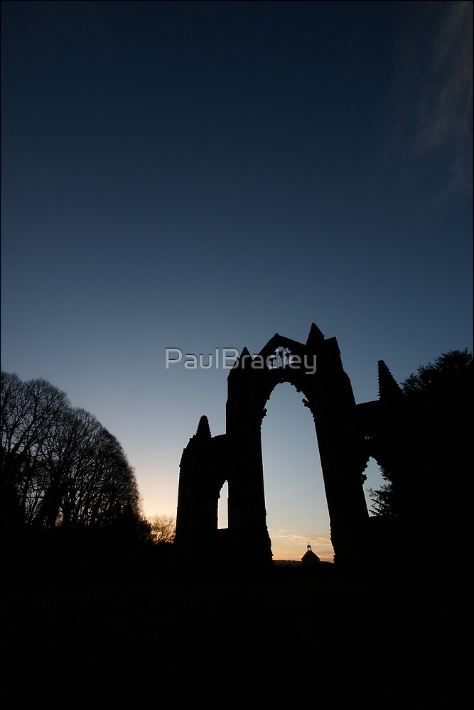 Priory in Silhouette by PaulBradley