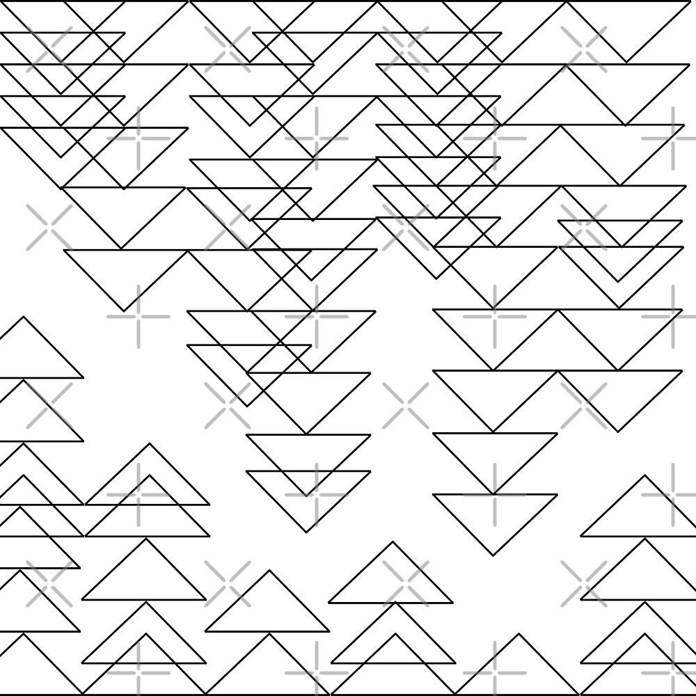 Triangular Breakdown - Lines by ChocoboMausi