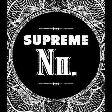 Supreme No by postlopez