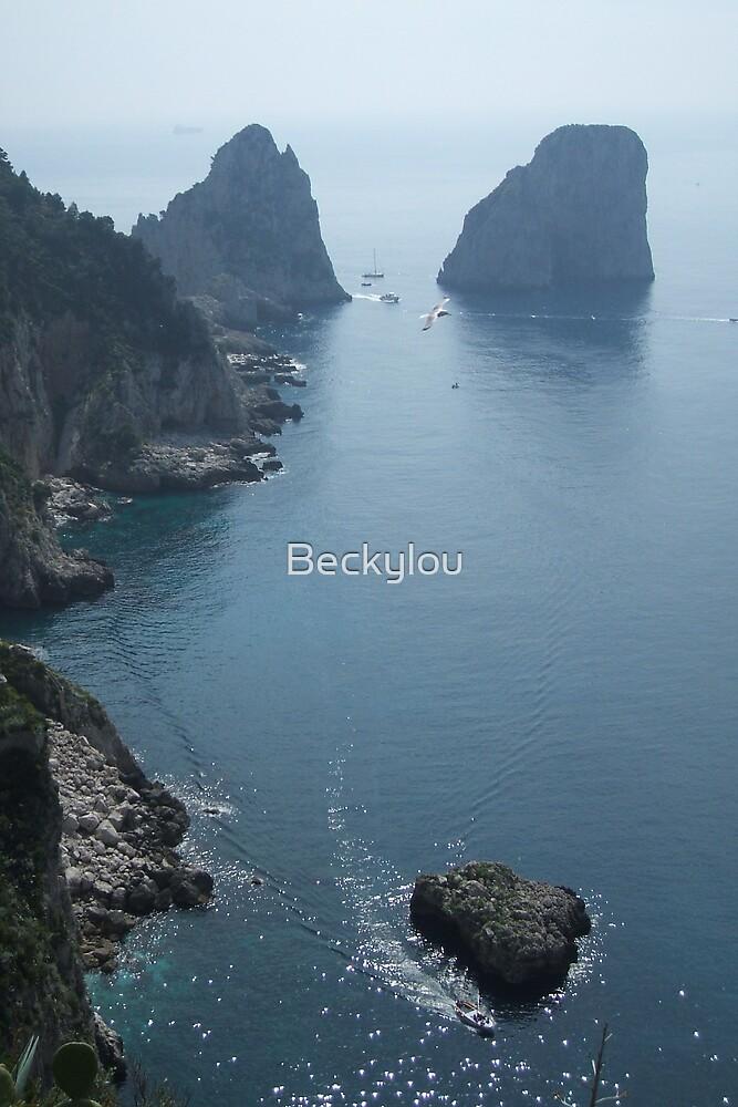 Amalfi Coastline by Beckylou