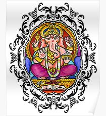 Lord Ganesh for Intellect Karma & Wisdom Poster