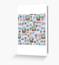 Succulent Love Greeting Card