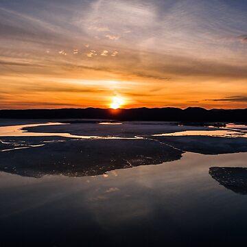 Sunset over Lake Sacandaga 1 by 631photo