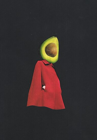 Rootless 2 (avocado) by kikicollagist