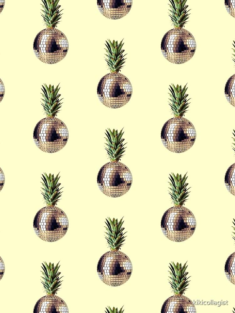 Ananas Party (Ananas) von kikicollagist