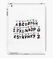 Stranger Things - Alphabet Wall iPad Case/Skin
