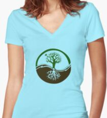 Conservation Women's Fitted V-Neck T-Shirt