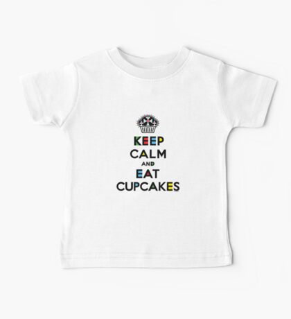 Keep Calm and Eat Cupcakes - mondrian  Kids Clothes