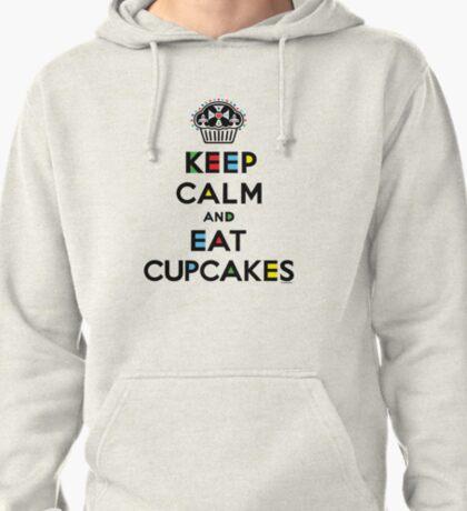 Keep Calm and Eat Cupcakes - mondrian  T-Shirt