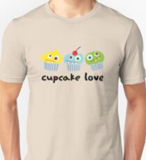 Cupcake Love - beige Unisex T-Shirt