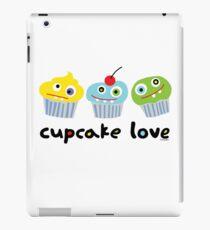 Cupcake Love - beige iPad Case/Skin