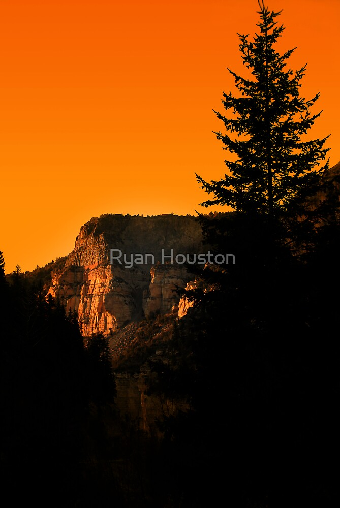 Orange Sky at Night by Ryan Houston