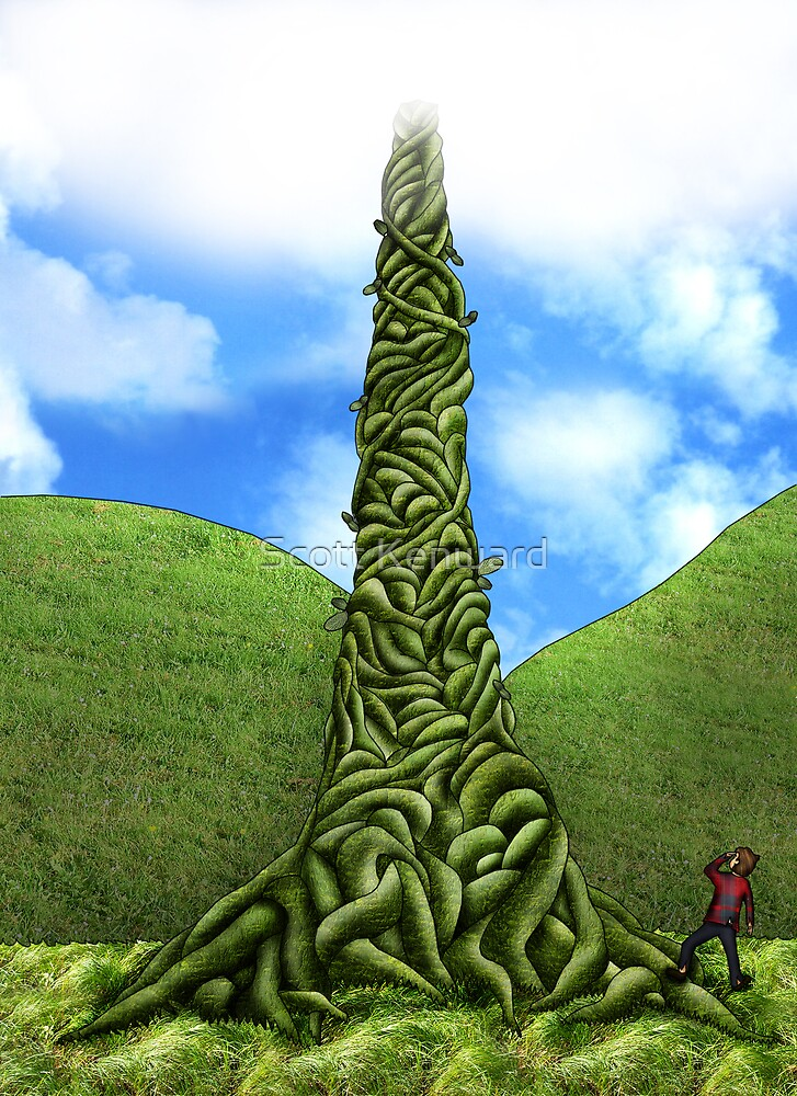 jack and the beanstalk by Scott Weston