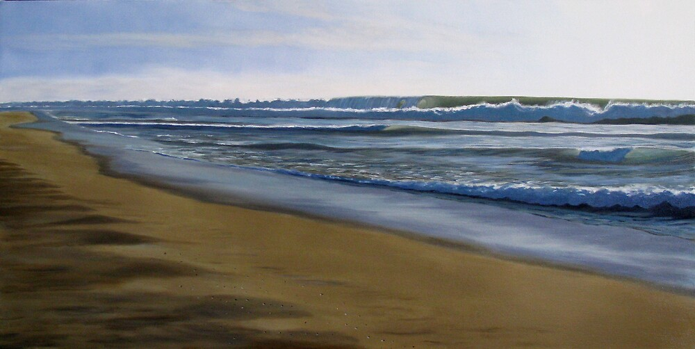 Afternoon Surf by Martin Clarke
