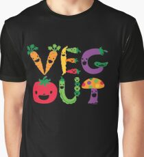 Veg Out dark Graphic T-Shirt
