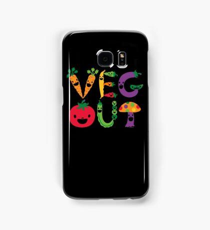 Veg Out dark Samsung Galaxy Case/Skin