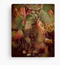 Catnip of the Sea (Electric Catnip) Canvas Print