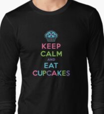 Keep Calm and Eat Cupcakes - on darks Long Sleeve T-Shirt