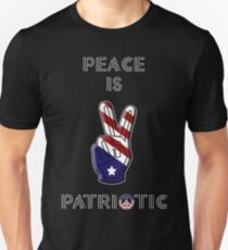 Peace is Patriotic II Unisex T-Shirt