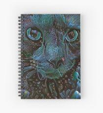 Fishtank Freakout! (Electric Catnip) Spiral Notebook