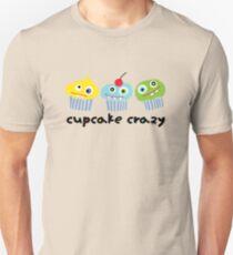 Cupcake Crazy - beige Unisex T-Shirt