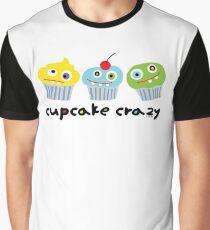 Cupcake Crazy - beige Graphic T-Shirt