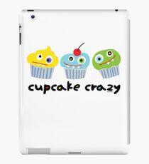 Cupcake Crazy - beige iPad Case/Skin