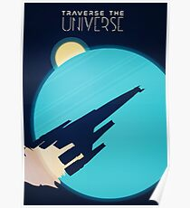 Traverse the Universe Poster