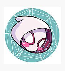 Chibi Spider Gwen Photographic Print