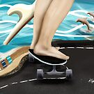 Seaside Skater by Karin Taylor