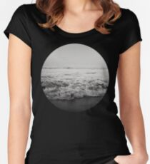 Ocean Crash Women's Fitted Scoop T-Shirt