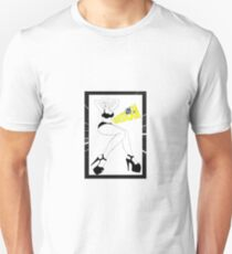 White Bedlam by Pasha Unisex T-Shirt