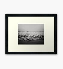 Ocean Crash Framed Print